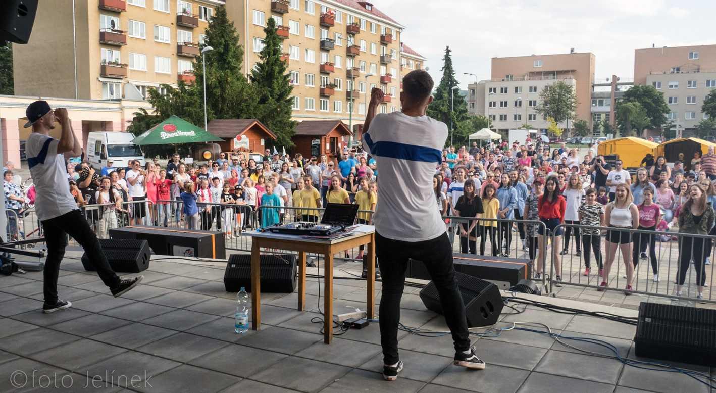 Vystúpenie dni mesta Nová Dubnica