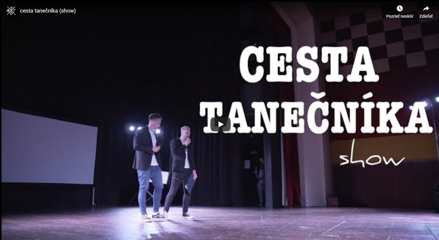 cesta tanečníka (show)