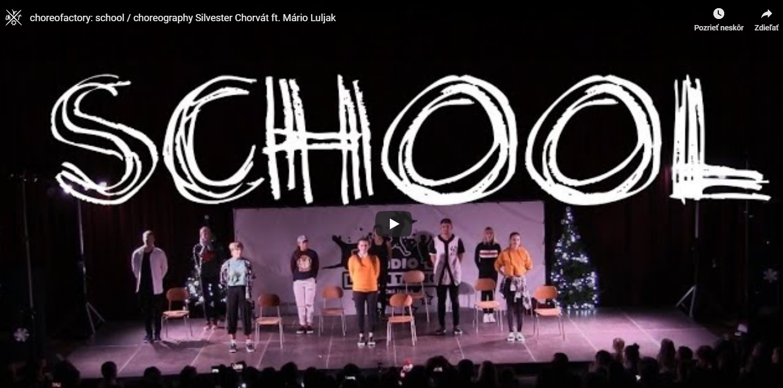 choreofactory: school / choreography Silvester Chorvát ft. Mário Luljak